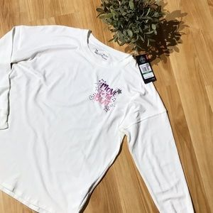 NWT Under Armour Long Sleeve Shirt Size YLG